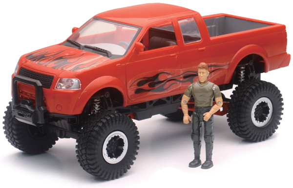 AS-37476-B - New-Ray Toys 4X4 Pickup Truck