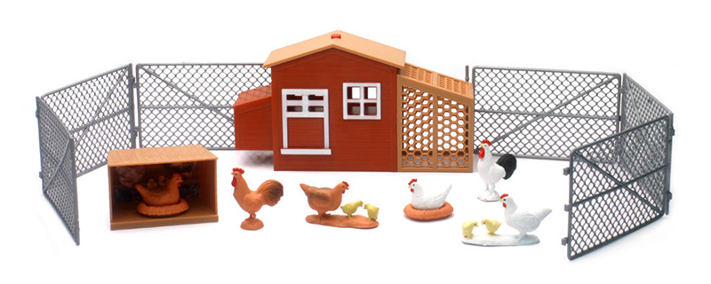 SS-05116 - New-Ray Toys Country Life Large Chick Play Set Battery
