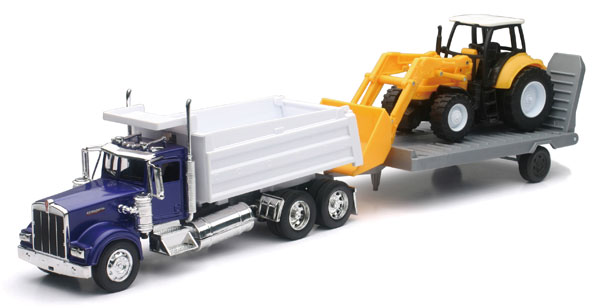 SS-10663 - New-ray Kenworth Dump Truck