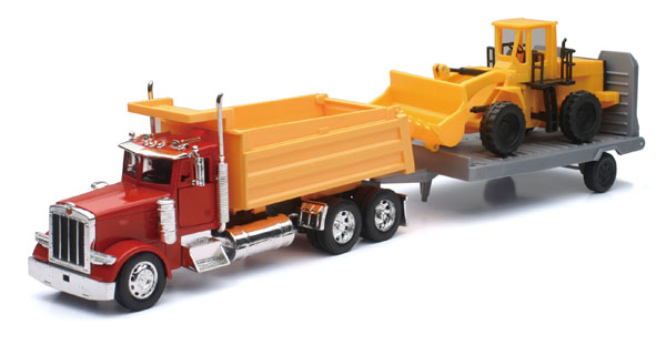 SS-10673 - New-ray Peterbilt Dump Truck
