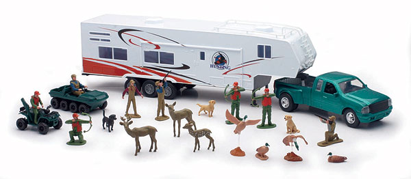 SS-10745 - New-ray Fifth Wheel Truck