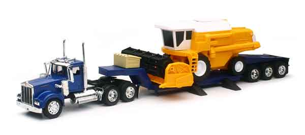 SS-11253 - New-ray Kenworth W900 Lowboy