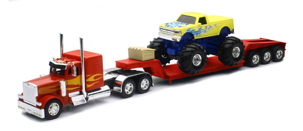 SS-11263A - New-ray Peterbilt Lowboy