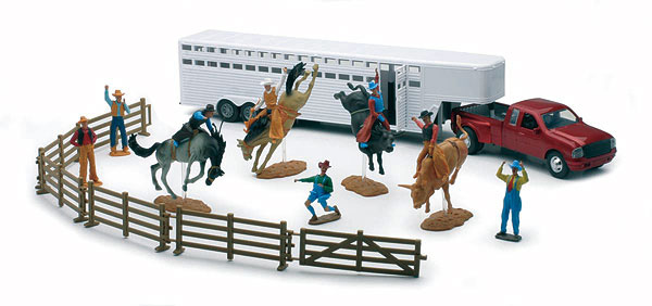 SS-38075-B-X - New-ray Rodeo Playset
