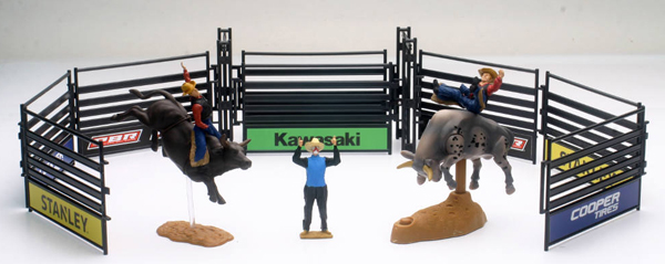New Ray Toys PBR Rodeo Playset Playset