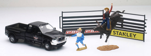 SS-38626 - New-ray PBR Bull Rider Playset
