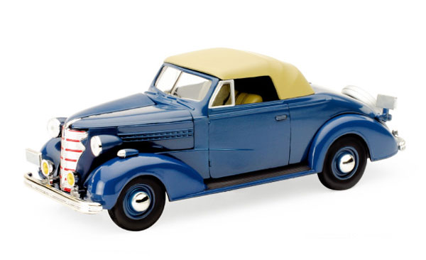 SS-55043 - New-ray 1938 Chevrolet Master Convertible Cabriolet