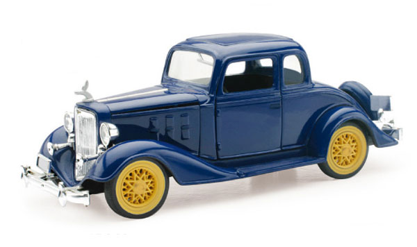 SS-55163 - New-ray 1933 Chevrolet Two Passenger 5 Window