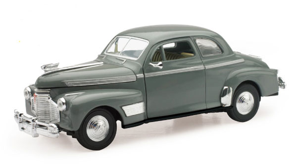 SS-55193 - New-Ray Toys 1941 Chevrolet Special Deluxe 5 Passenger Coupe