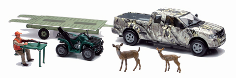 SS-76033-B - New-ray Hunting Camo Pick Up