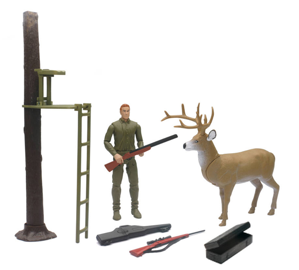 SS-76416B - New-ray Wildlife Hunting Playset