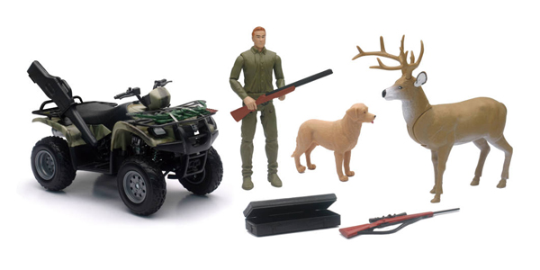 SS-76426A - New-ray Wildlife Hunting Playset