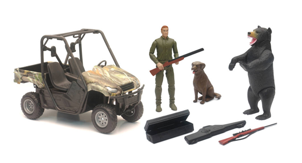 SS-76426B - New-ray Wildlife Hunting Playset