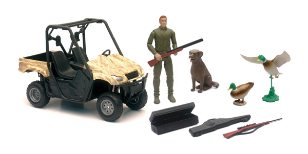 SS-76426C - New-ray Wildlife Hunting Playset
