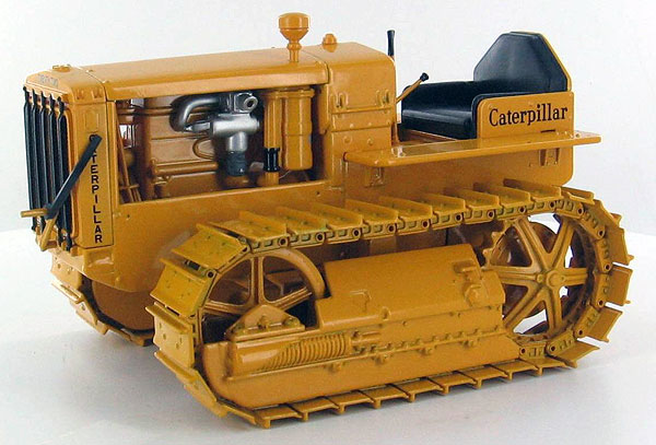 55154-BACK-X - Norscot Caterpillar Twenty Two Tractor _ Crawler