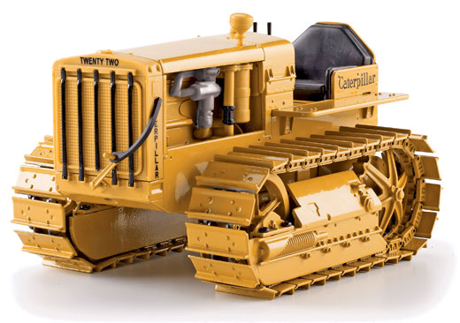 55154 - Norscot Caterpillar Twenty Two Tractor _ Crawler