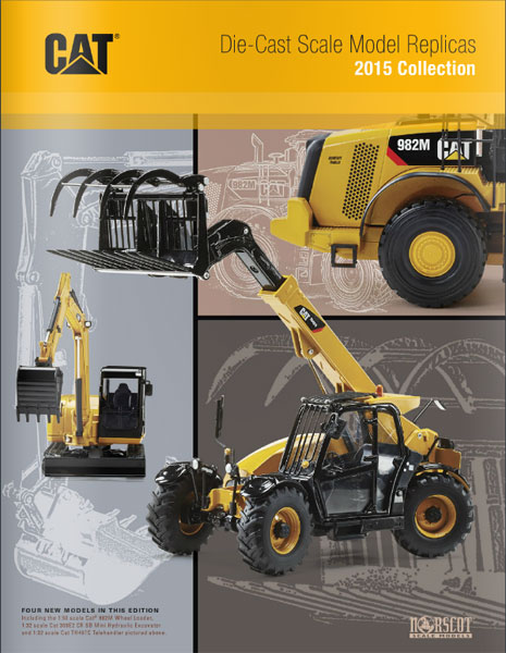 5515CMN - Norscot 2015 Norscot Caterpillar Scale Model Catalog
