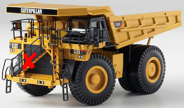55216-X - Norscot Caterpillar 785D Mining Dump Truck MODEL IS
