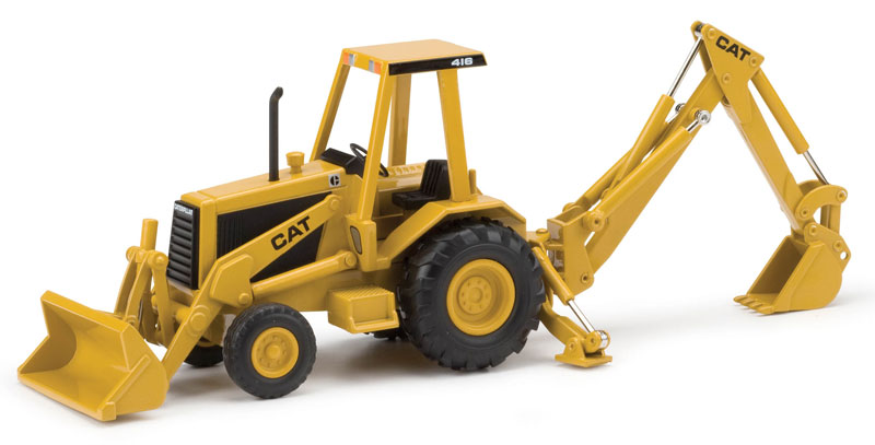 55271-X - Norscot Caterpillar 416 Backhoe Loader MODEL IS