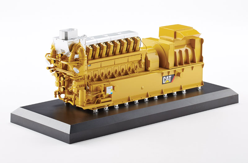 55287-X - Norscot Caterpillar CG260 16 Gas Generator MODEL
