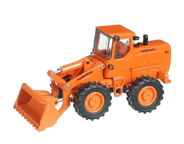 599 - NZG Model Hanomag B8 Wheel Loader