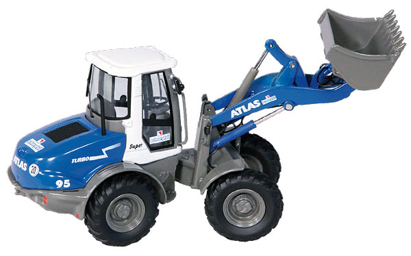 640-04 - NZG Model Schnorpfeil Atlas AR95 Wheel Loader
