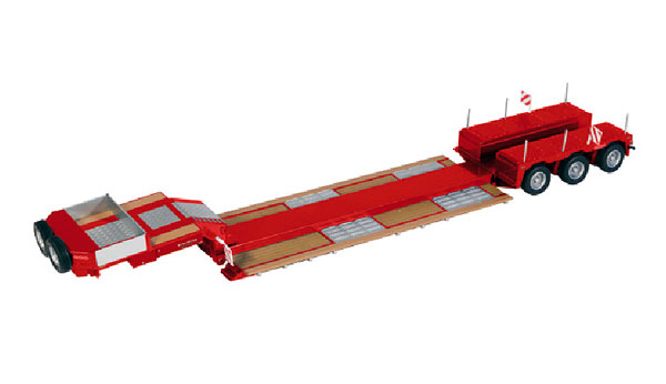 655-10 - NZG Model Nooteboom 3 Axle PendelX Lowboy Trailer