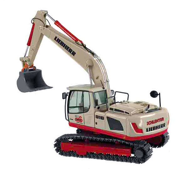 685-20 - NZG Schlenter Liebherr R916 Advanced Tracked Excavator