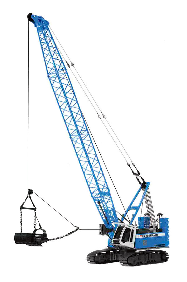 728-06 - NZG Model HC Hagemann Liebherr HS855HD Duty Cycle