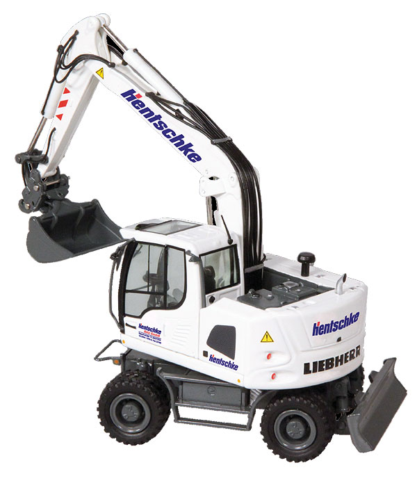 818-04 - NZG Model Hentschke Liebherr A918 Compact Litronic Mobile