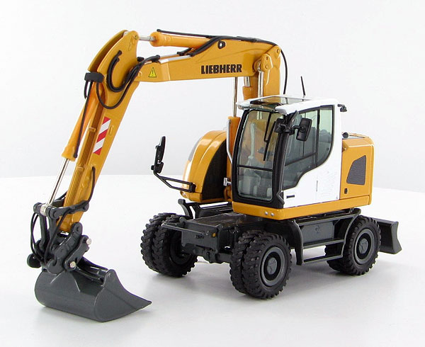 818 - NZG Liebherr A918 Compact Litronic Mobile Excavator