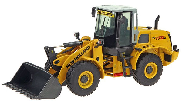 819 - NZG Model New Holland W170B Wheel Loader