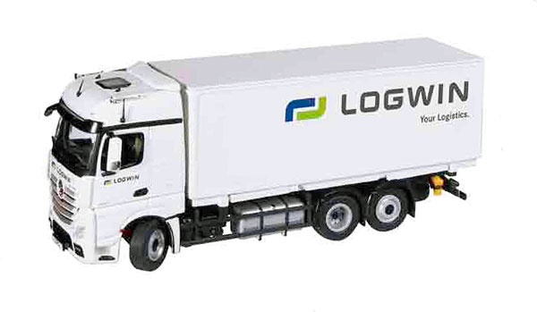 8451-01 - NZG Logwin Mercedes Benz Actros FH25 BigSpace