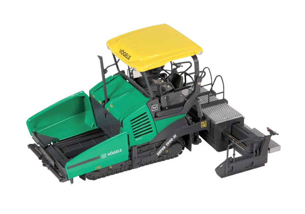 8581 - NZG Model Vogele Super 1900 3i Tracked Paver New