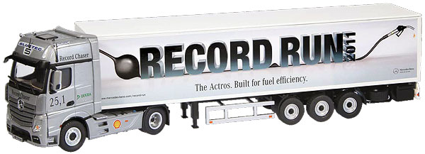 862-03 - NZG Model Record Run Mercedes Benz Actros