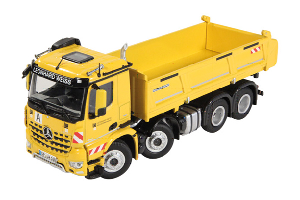 904-01 - NZG Model Leonhard Weiss Mercedes Benz Arocs 8x4