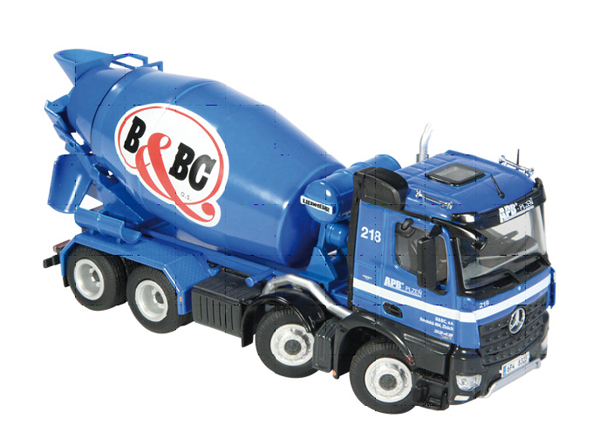 906-14 - NZG Model BaBc Mercedes Benz Arocs 8x4 Concrete
