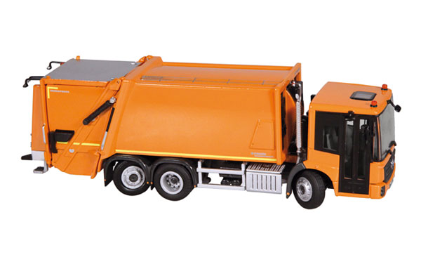 908-65 - NZG Model Mercedes Benz Econic Faun Variopress Garbage