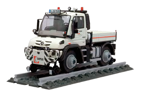 9105-01 - NZG Model Sersa Mercedes Benz Unimog U 400 Two