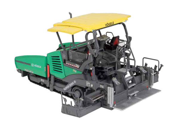 944 - NZG Model Vogele Super 2000 3i Tracked Paver