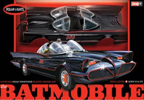 824 - Polar Lights 1966 Batmobile Snap Kit