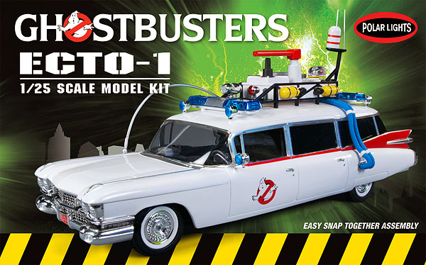 914 - Polar Lights Ghostbusters Ecto 1 Snap Together