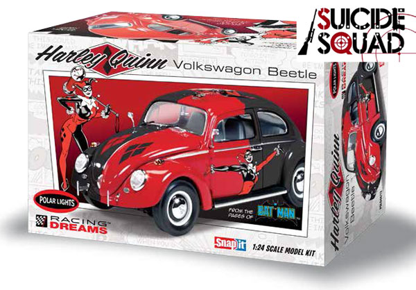 944 - Polar Lights Harley Quinn Volkswagen Beetle Snap