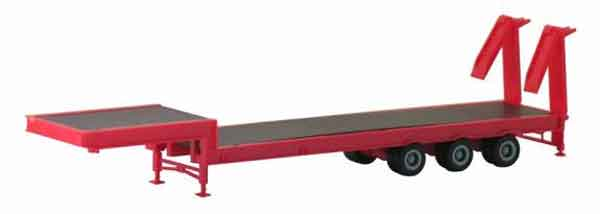 005433 - Promotex 3 Axle Equipment Trailer All or