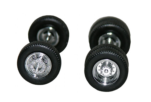 005462 - Promotex Chrome Plated Wheels