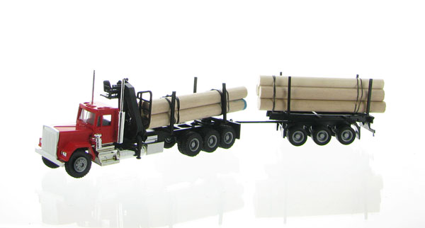 006394 - Promotex Kenworth Log Truck and Trailer