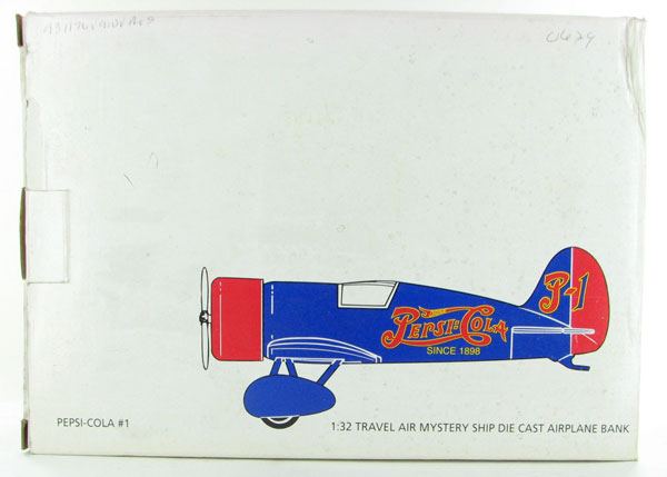00629 - Revell Pepsi Cola 1 Travel Air Mystery