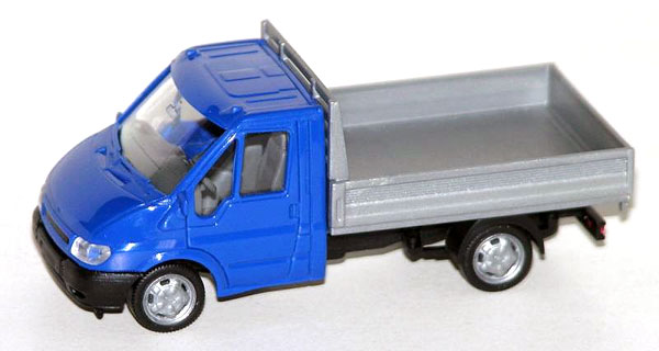 006559 - Rietze Ford Transit Flatbed Utility Truck