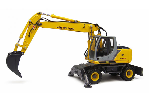 001916 - ROS New Holland MH 56 Wheeled Excavator