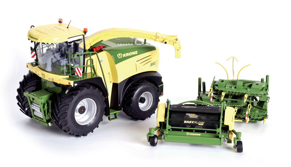 601529 - ROS Krone Big X 580 Forage Harvester